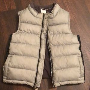 Gymboree fleece lined vest